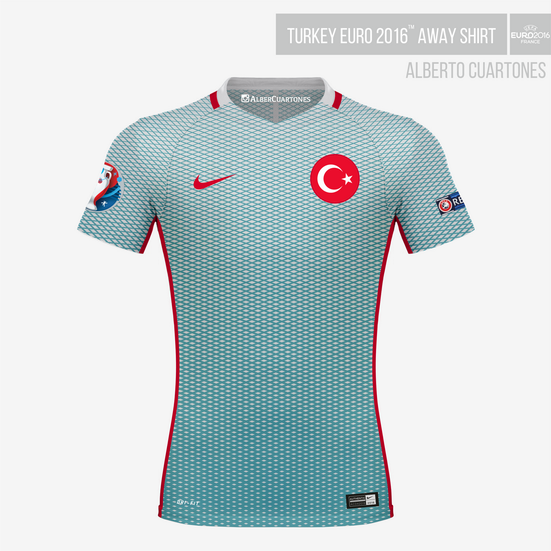 Turkey UEFA EURO 2016™ Away Shirt