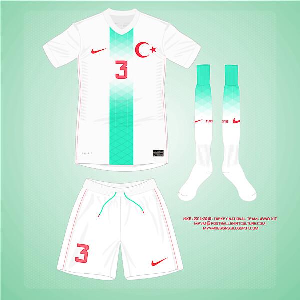 2014 Nike Turkey Away Kit