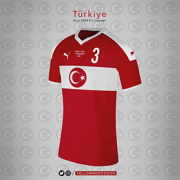 Turkiye Euro2020 Kit Concept - Puma