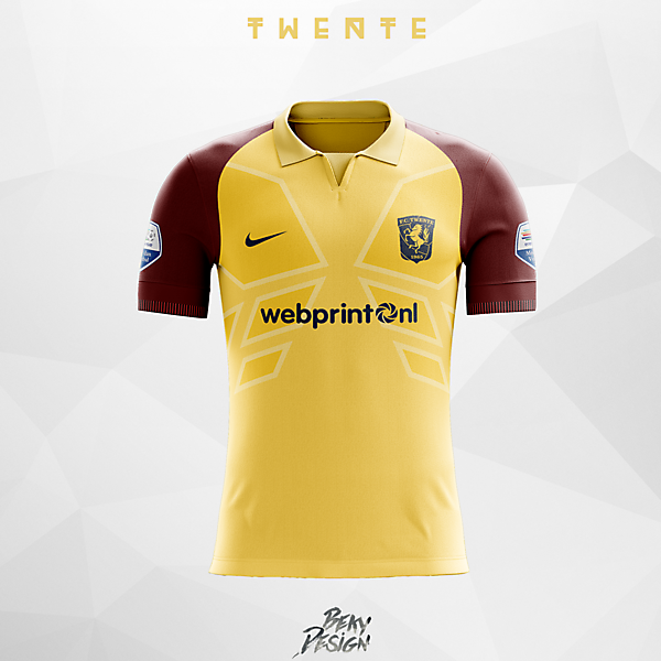 Twente - Away Concept