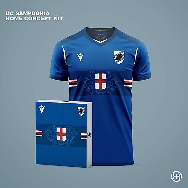 UC Sampdoria | Home concept kit