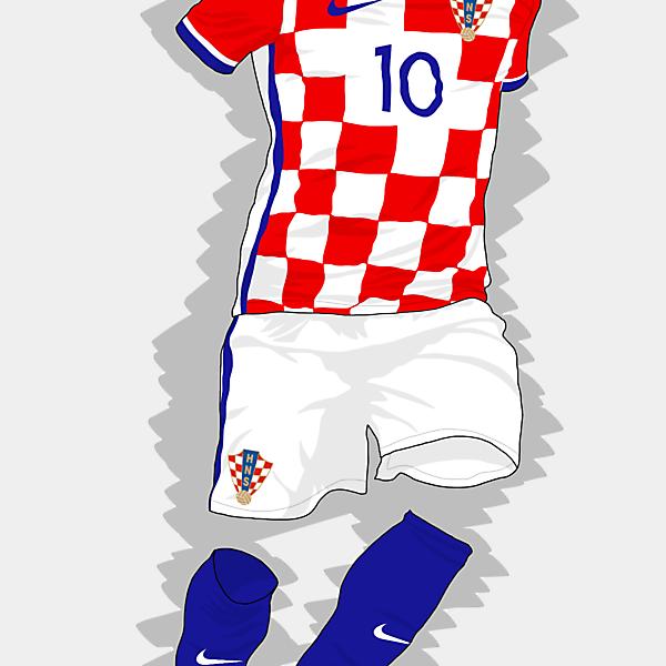 UEFA EURO 2016 - Croatia Home Kit