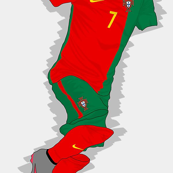 UEFA EURO 2016 - Portugal Home Kit