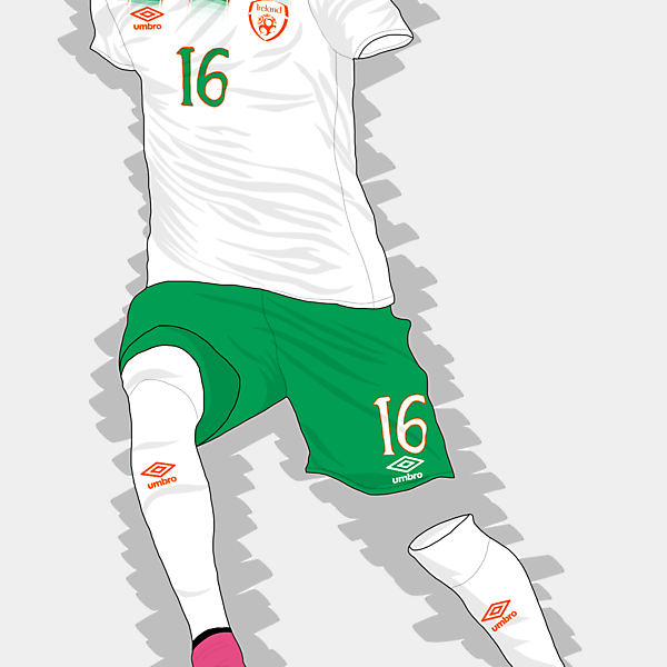 UEFA EURO 2016 - Rep. of Ireland Away Kit