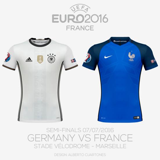 UEFA EURO 2016™ Semi-Finals | Germany vs France