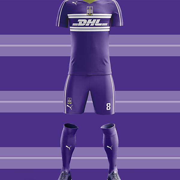 Újpest FC Away Kit 2016-17