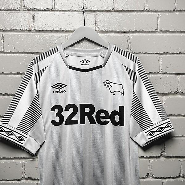 umbro Derby County Home Shirt Concept