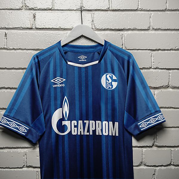 umbro Schalke 04 Home Shirt Concept