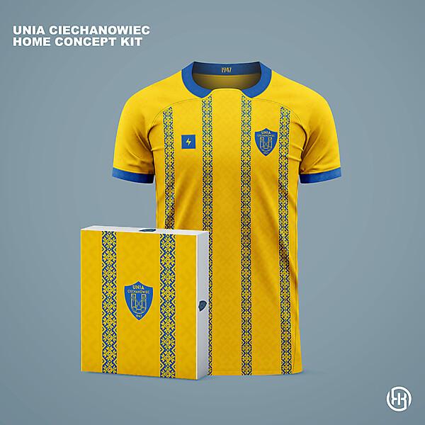 Unia Ciechanowiec | Home kit concept