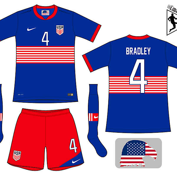 United States - Away kit
