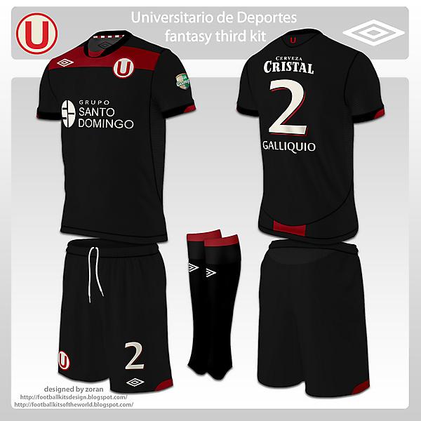 Universitario de Deportes fantasy kits