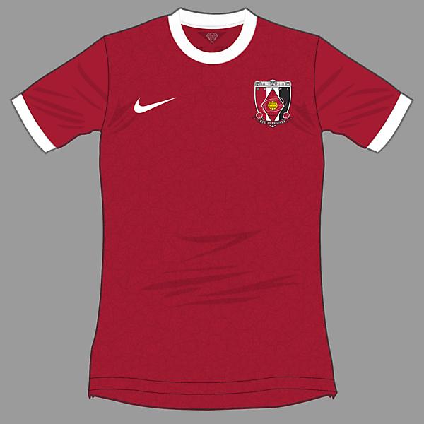 Urawa Red Diamonds 2015-2016 Home