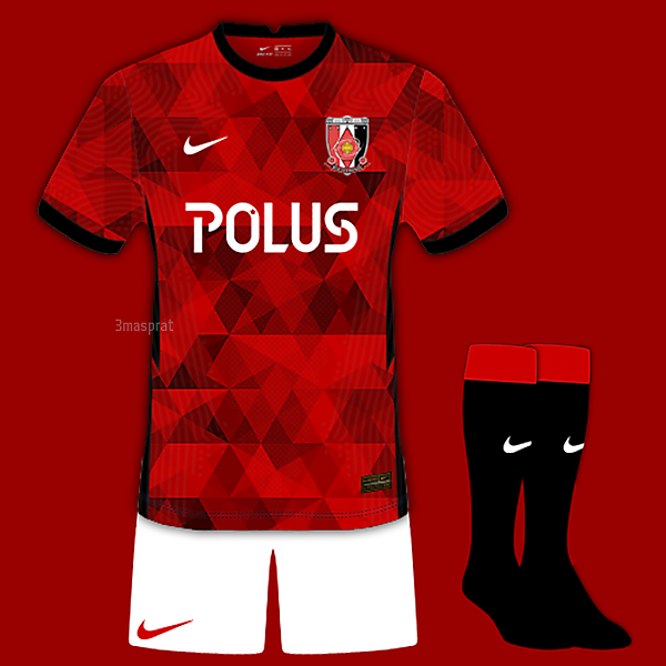 Urawa Reds Home Concept Kit