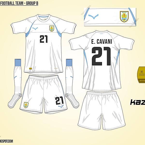 Uruguay Away - Group B, 2015 Copa América