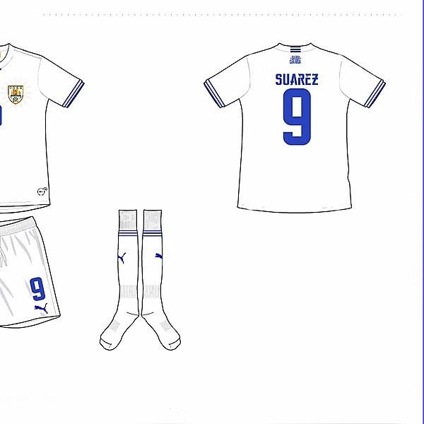 Uruguay Away Kit