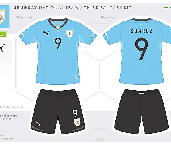 Uruguay Fantasy Kit - Home