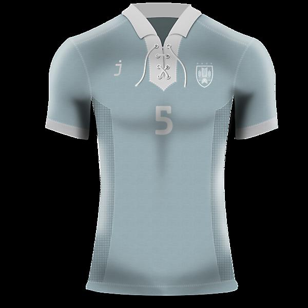Uruguay home kit (Retro) by J-sports