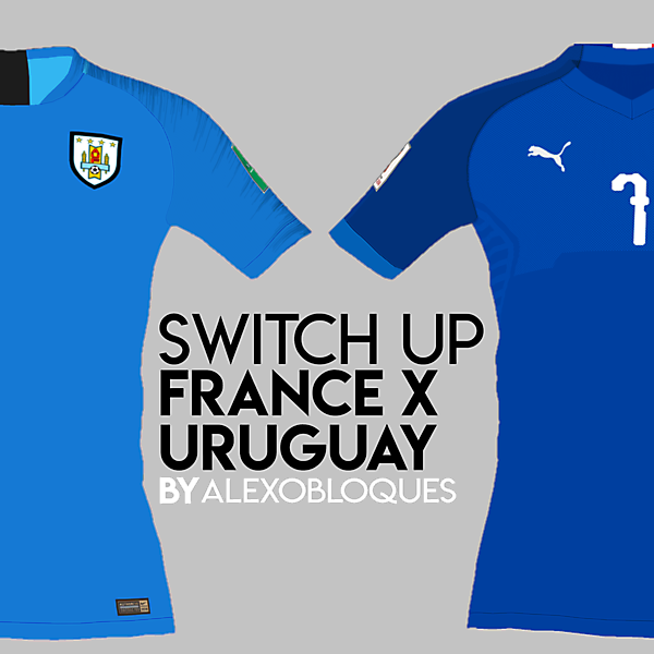 URUGUAY X FRANCE | SWITCH UP!