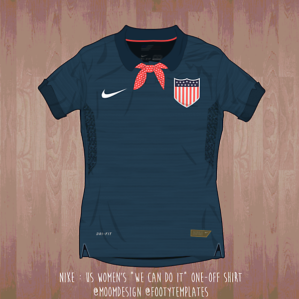US Women's Home Kit ( We can do it! )