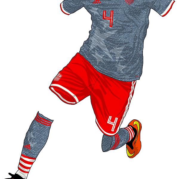 USA 2018 Away kit