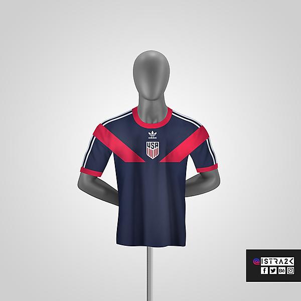 USA X Adidas - Away