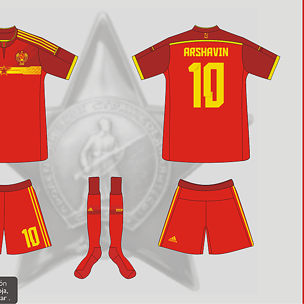 USSR World Cup 2014 Home Kit - Matupeco&LaCasaca