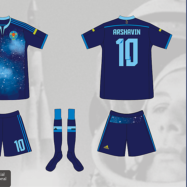 USSR World Cup 2014 Third Kit - Matupeco&LaCasaca