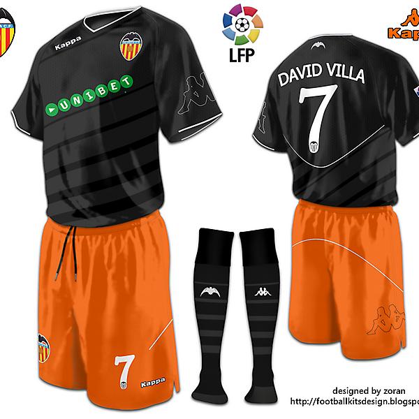 Valencia CF away fantasy