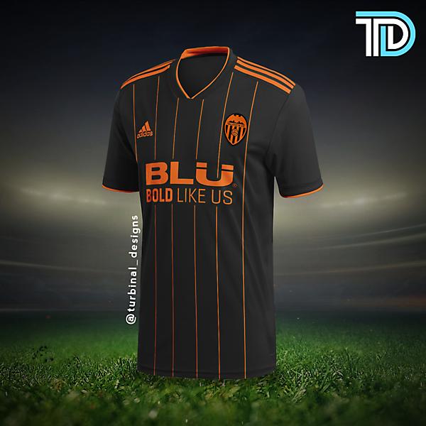 Valencia CF Away Kit Concept