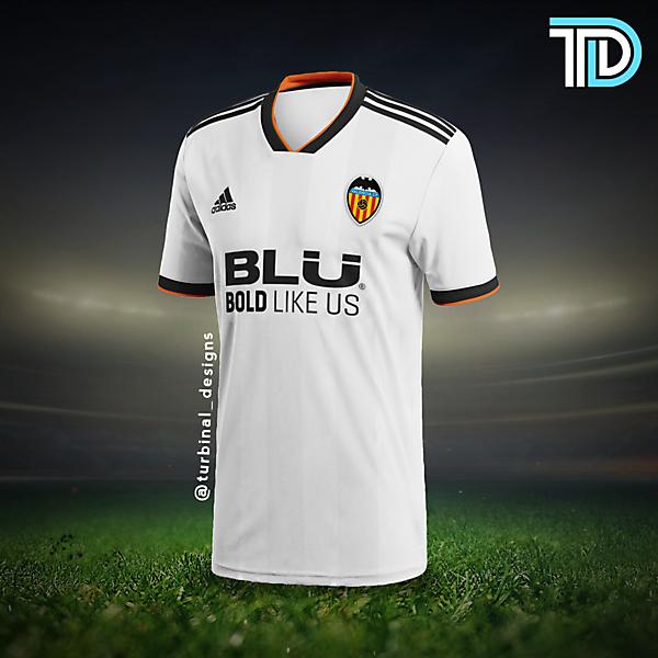 Valencia CF Home Kit Concept