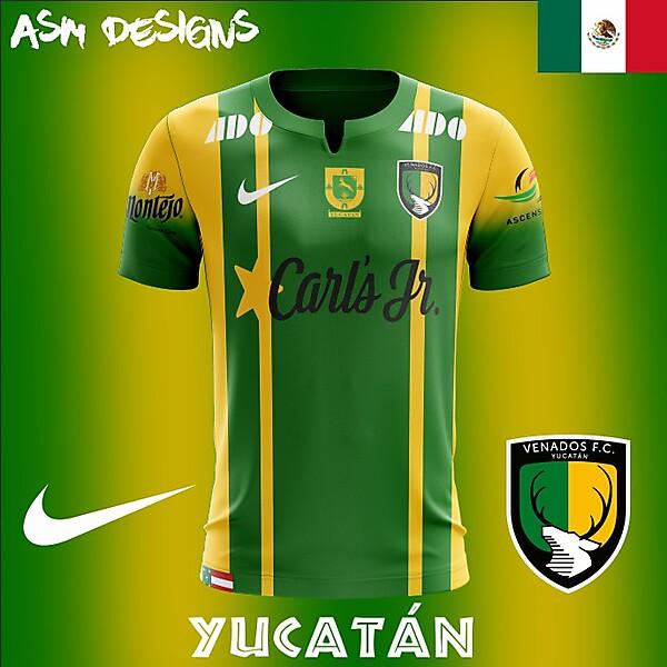 Venados FC Nike 2018 Home kit