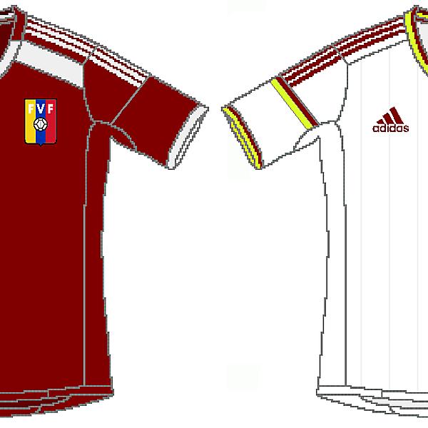 Venezuela Adidas 2014 Kits