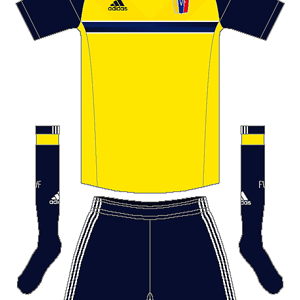 Venezuela Adidas Away Kit