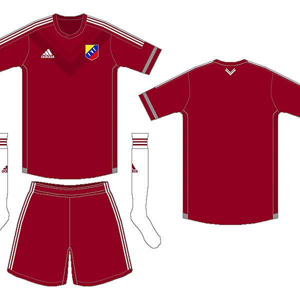 Venezuela Adidas Home Kit - Venezuela Football Project