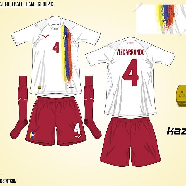 Venezuela Away - Group C, 2015 Copa América
