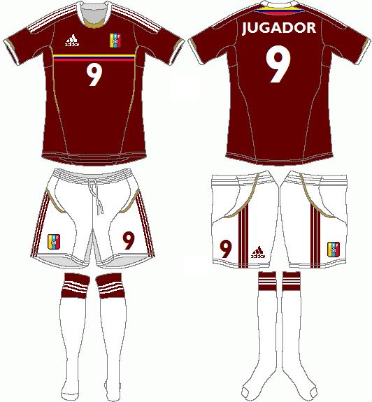 Venezuela World Cup Adidas Home Kit