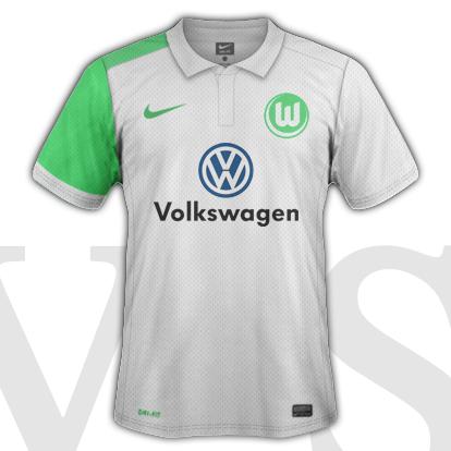 VfL Volfsburg Third kit 2016/17 season