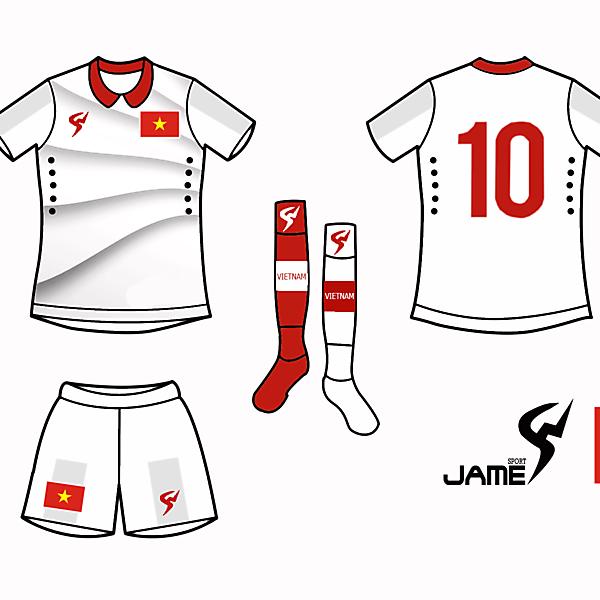 Vietnam Kits Away 2017