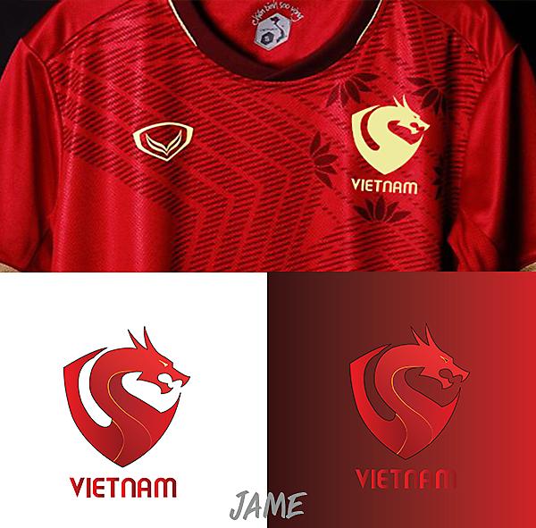 Vietnam Logo Football 2020