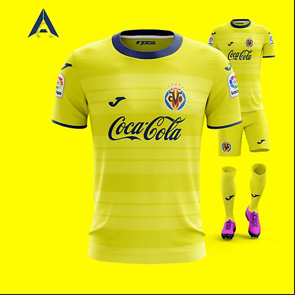 Villarreal CF 2021 Joma Home Kit