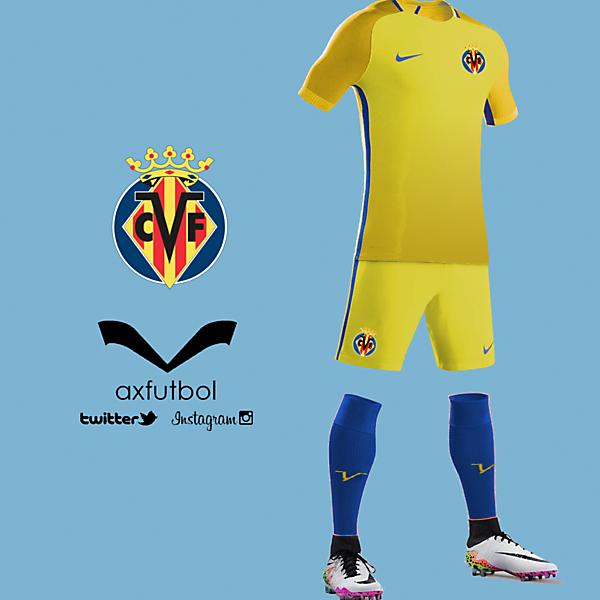 Villarreal nike kit design