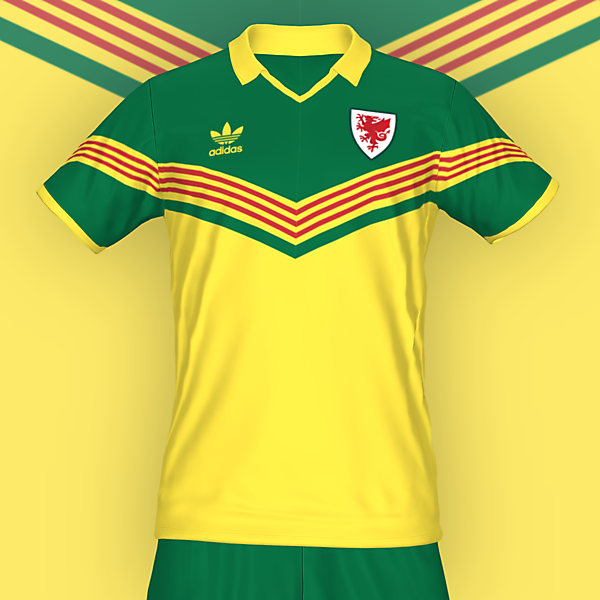 Wales away concept