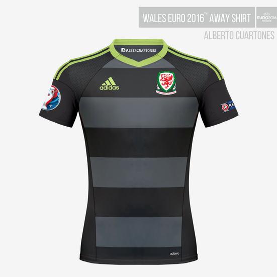 Wales UEFA EURO 2016™ Away Shirt