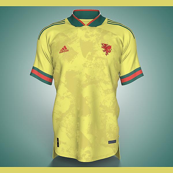 Wales X adidas - Away