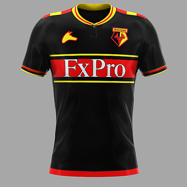 Watford away concept