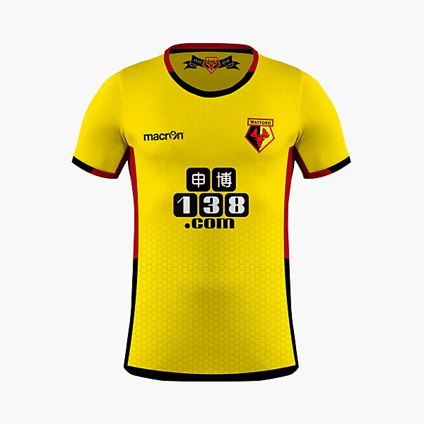 Watford FC - Macron Home Kit