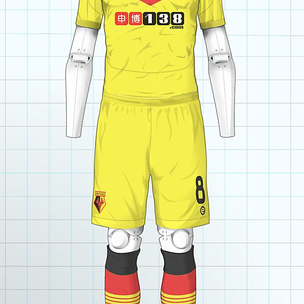 Watford FC Home Kit