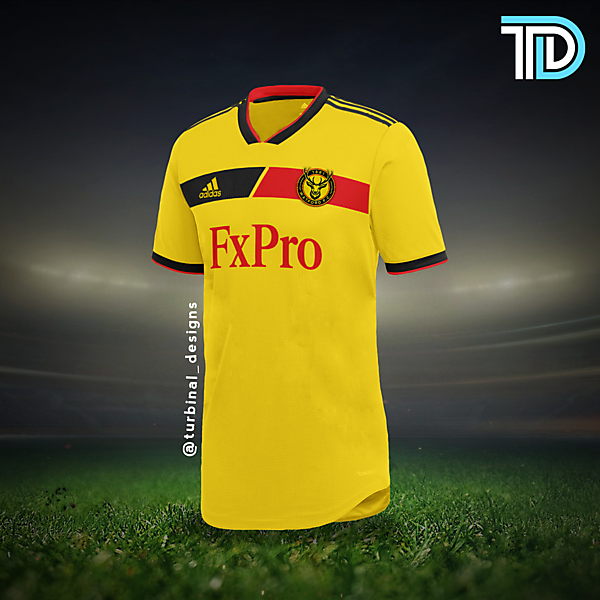 Watford FC Home Kit Concept