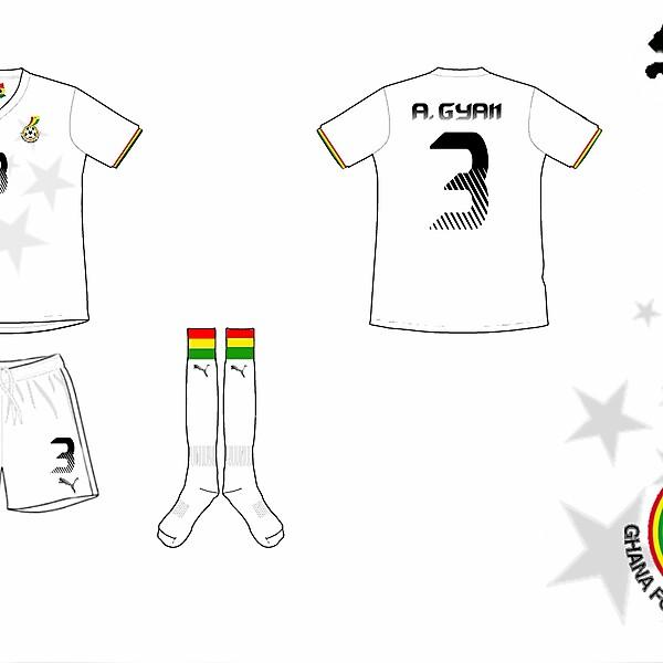 WC Kits Competition - Ghana Home Kit
