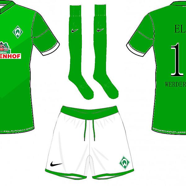 Werder Brema Home Kit